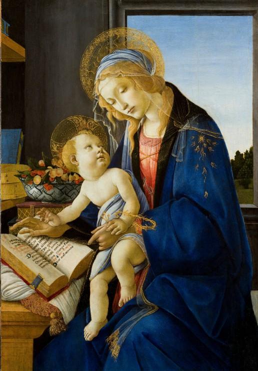 sandro-botticelli-la-madone-du-livre-1480