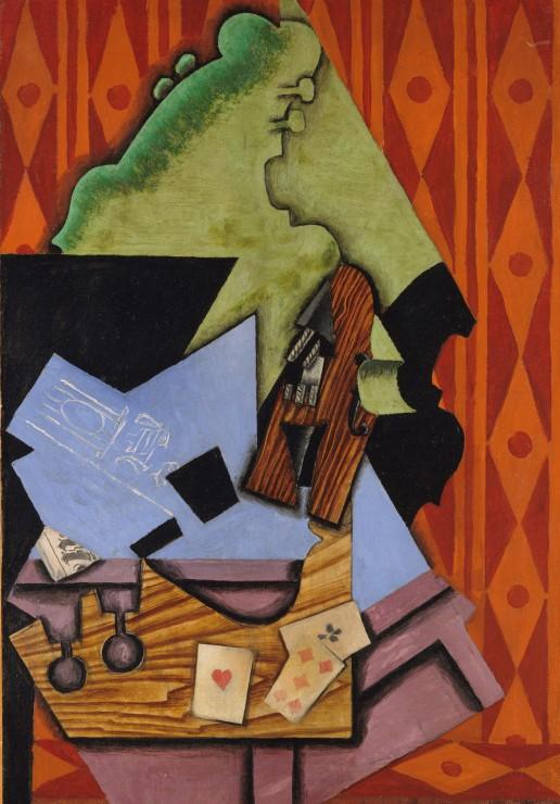 juan-gris-violon-et-cartes-a-jouer-sur-une-table-1913