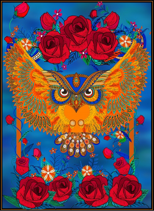 owl-roses