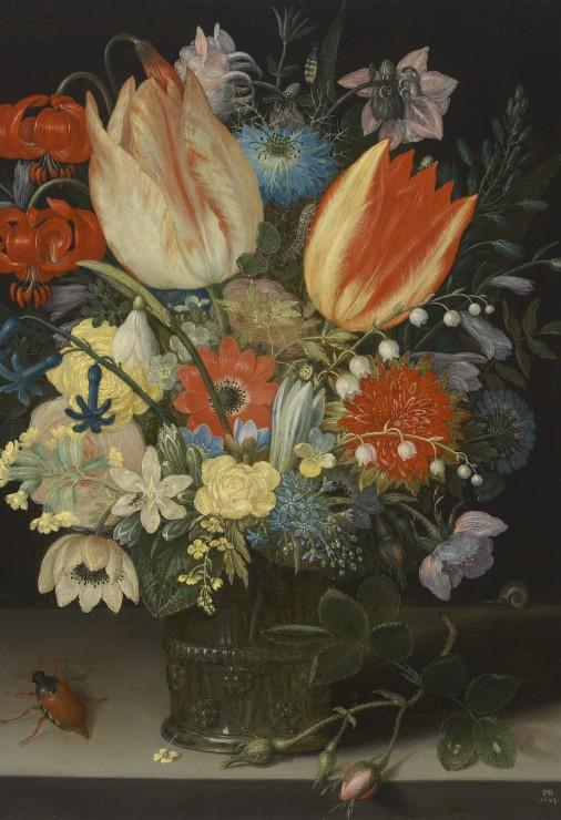 pieces-xxl-peter-binoit-nature-morte-avec-des-tulipes-1623