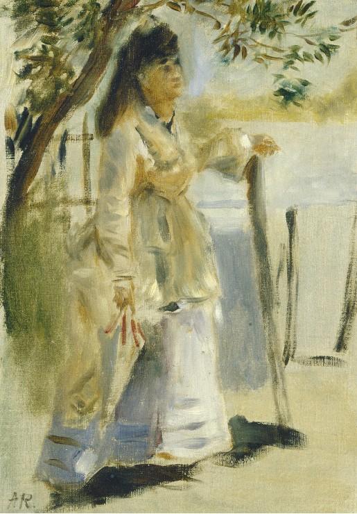 auguste-renoir-femme-a-la-barriere-1866