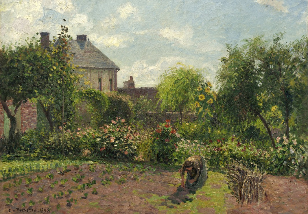 camille-pissarro-le-jardin-de-l-artiste-a-eragny-1898