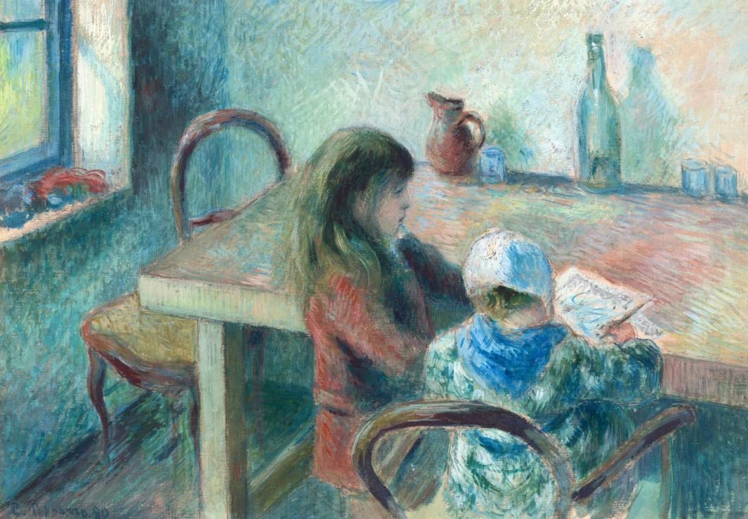camille-pissarro-les-enfants-1880