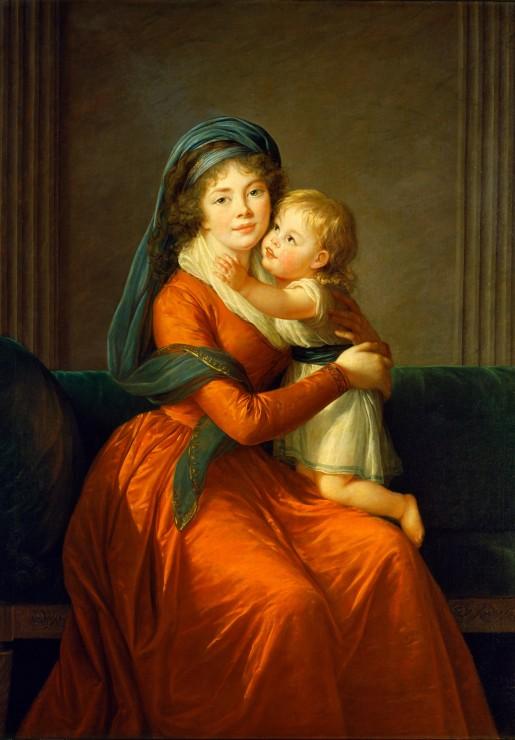 louise-elisabeth-vigee-le-brun-princesse-alexandra-golitsyna-et-son-fils-piotr-1794