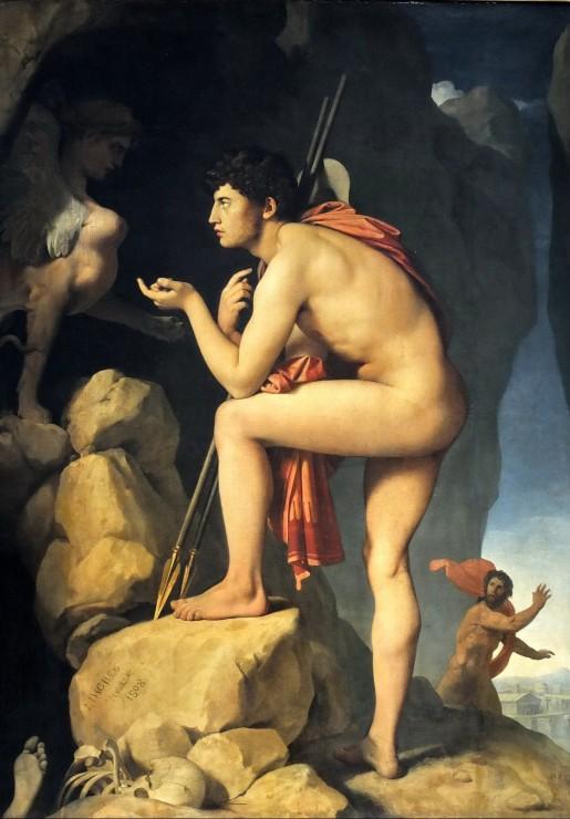 jean-auguste-dominique-ingres-dipe-explique-l-enigme-du-sphinx-1808
