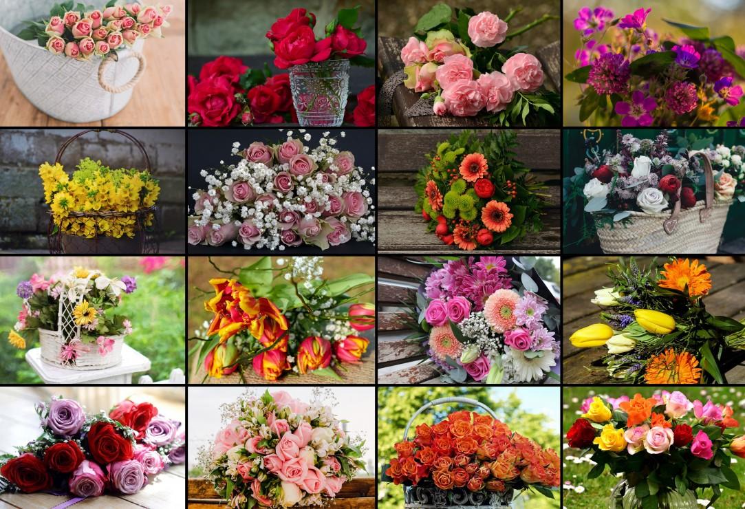 pieces-xxl-collage-fleurs, 13.95 EUR @ go