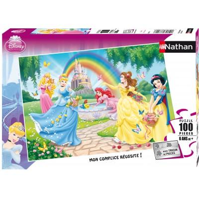 Puzzle Disney Princess Le Jardin Des Princesses Nathan