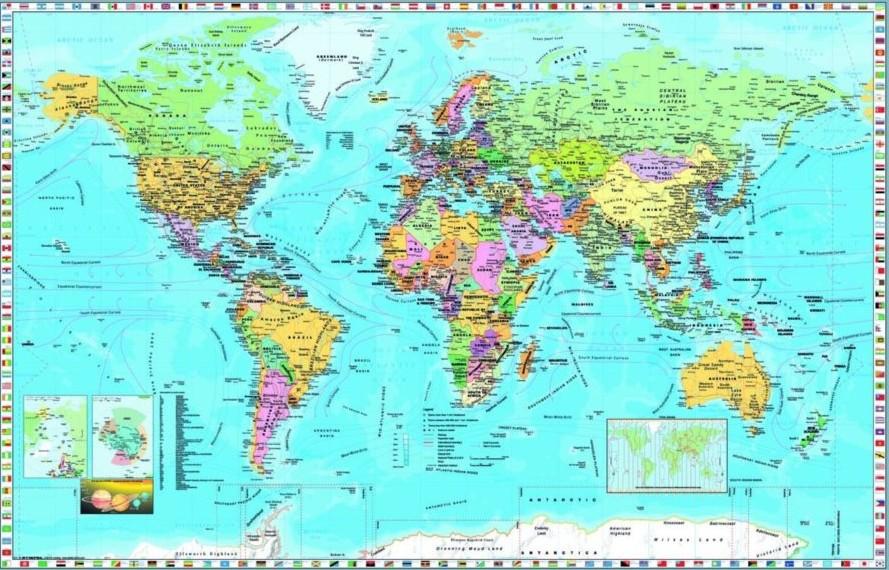carte-du-monde-en-anglais-