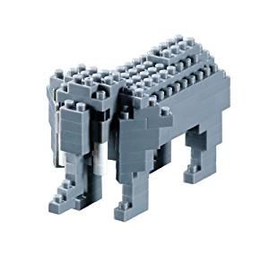 nano-puzzle-3d-elephant