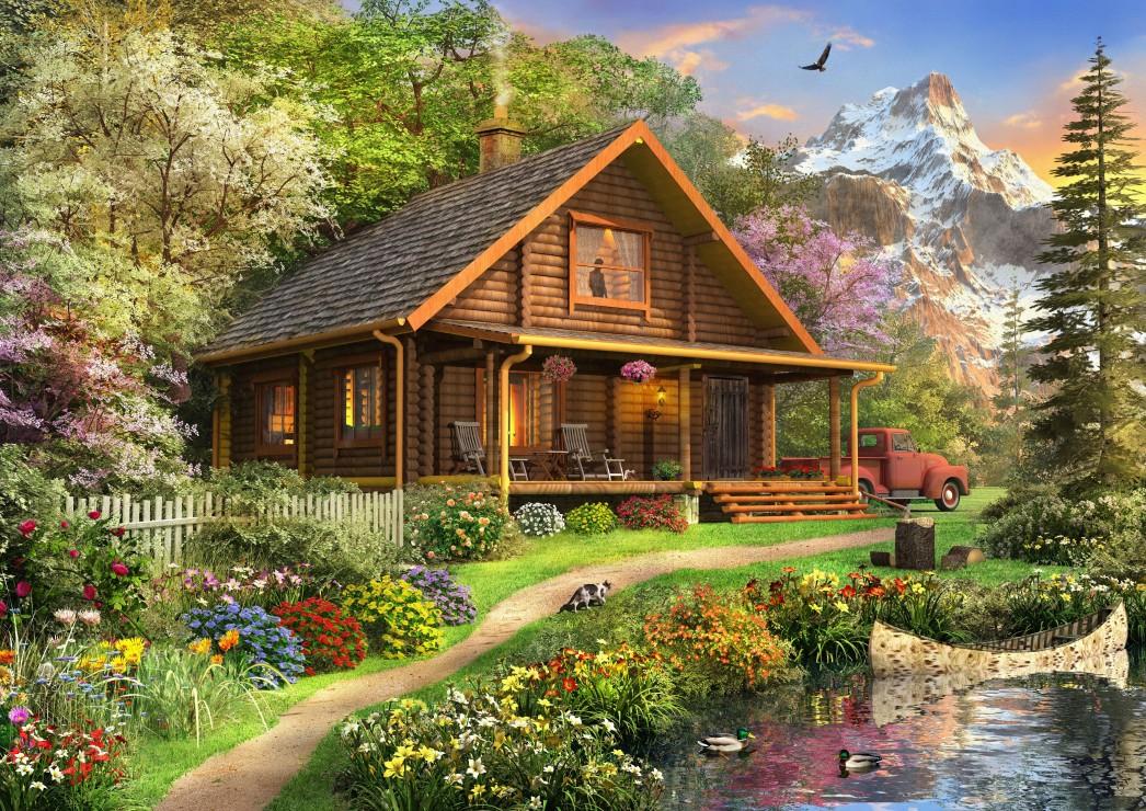 a-log-cabin-somewhere-in-north-america