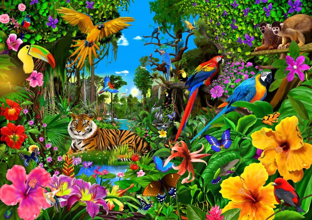 jungle-sunrise
