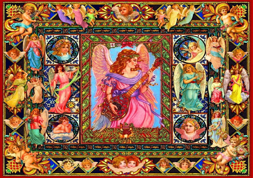antique-angels