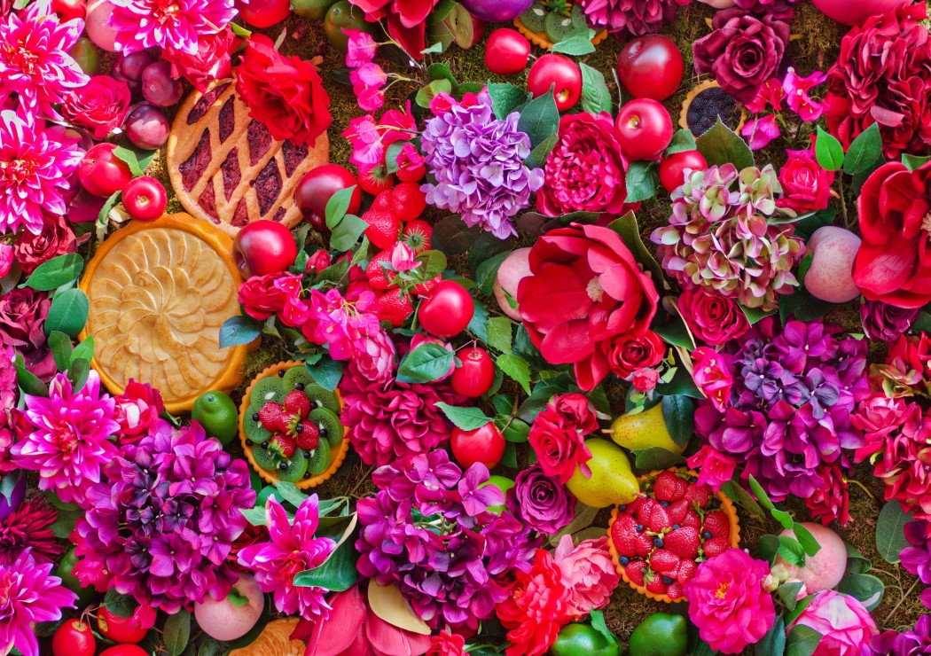 flowers-fruits