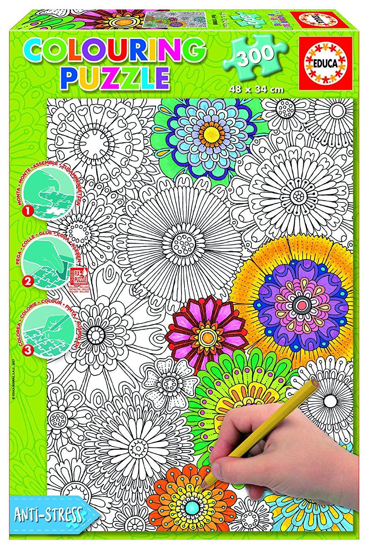puzzle-a-colorier-jolies-fleurs