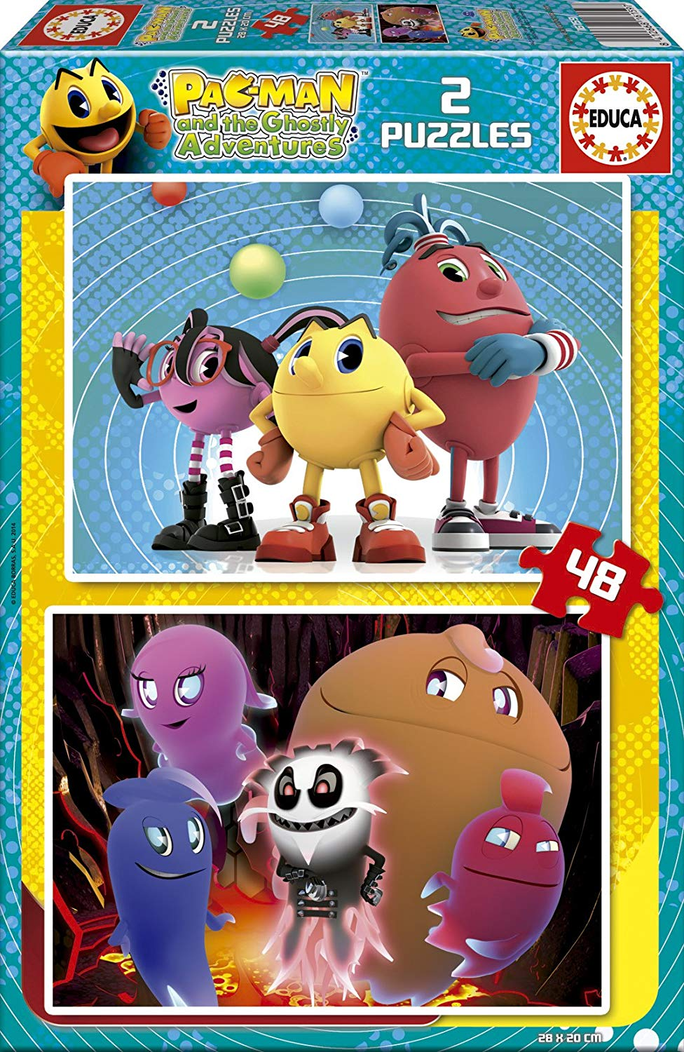 2-puzzles-pac-man