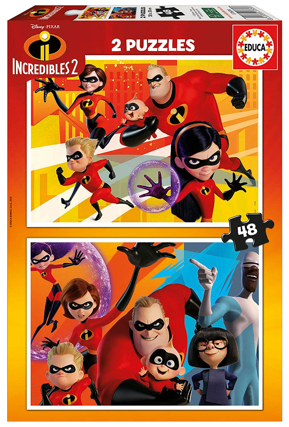2-puzzles-incredibles-2, 7.15 EUR @ go