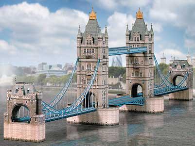maquette-en-carton-tower-bridge-london, 18.90 EUR @ go