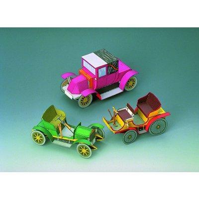 maquette-en-carton-trois-voitures-anciennes-i