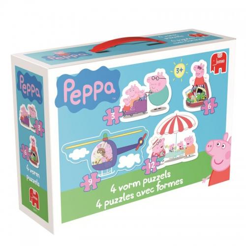 4 Puzzles - Peppa Pig