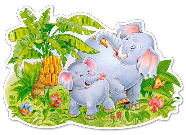 pieces-xxl-puzzle-forme-jeux-d-elephants, 6.25 EUR @ go