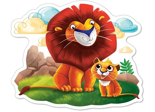 pieces-xxl-lions, 6.95 EUR @ go