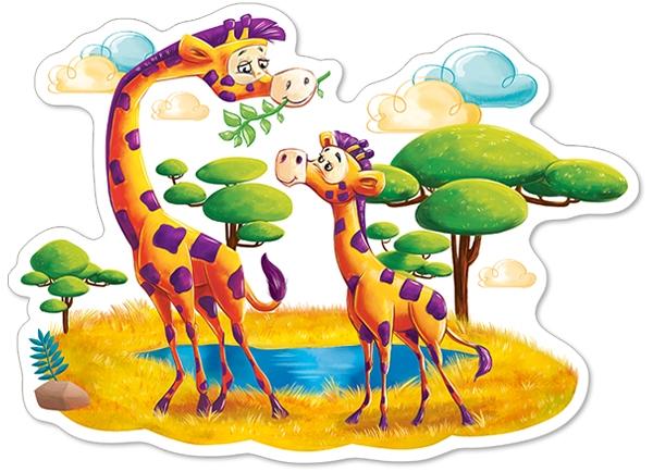 pieces-xxl-girafes-dans-la-savane
