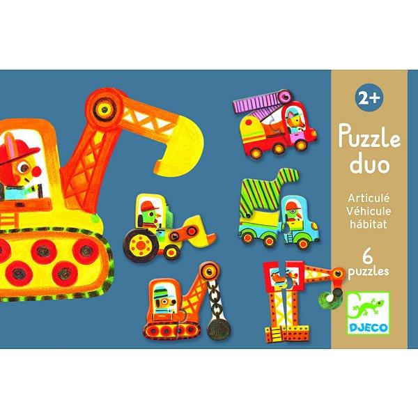 puzzle-6-x-2-pieces-duo-articulo-vehicule