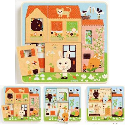 puzzle-3-niveaux-cottage-des-lapins
