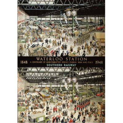 100 ans de la gare de Waterloo 1848 - 1948