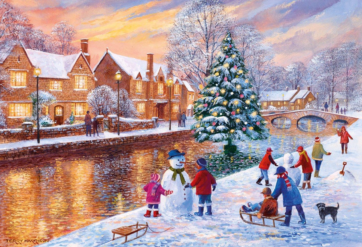 terry-harrison-bourton-at-christmas