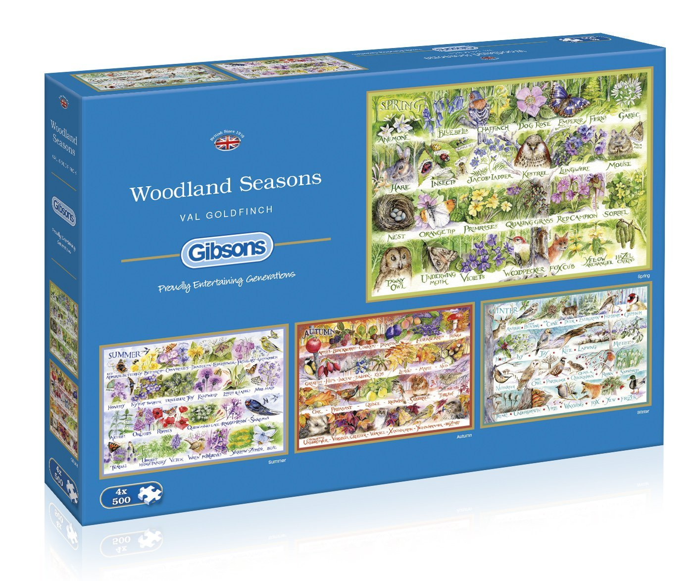 4-puzzles-woodland-seasons