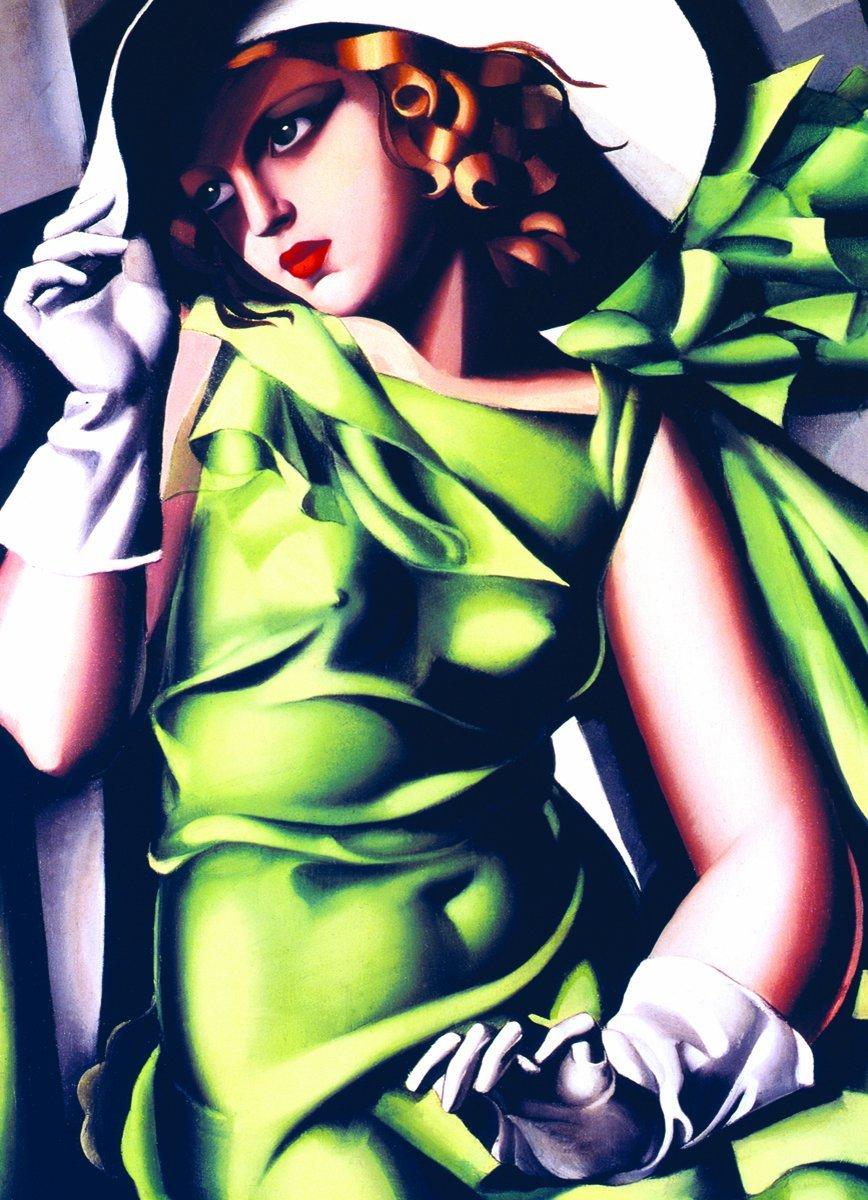 tamara-de-lempicka-jeune-fille-en-vert