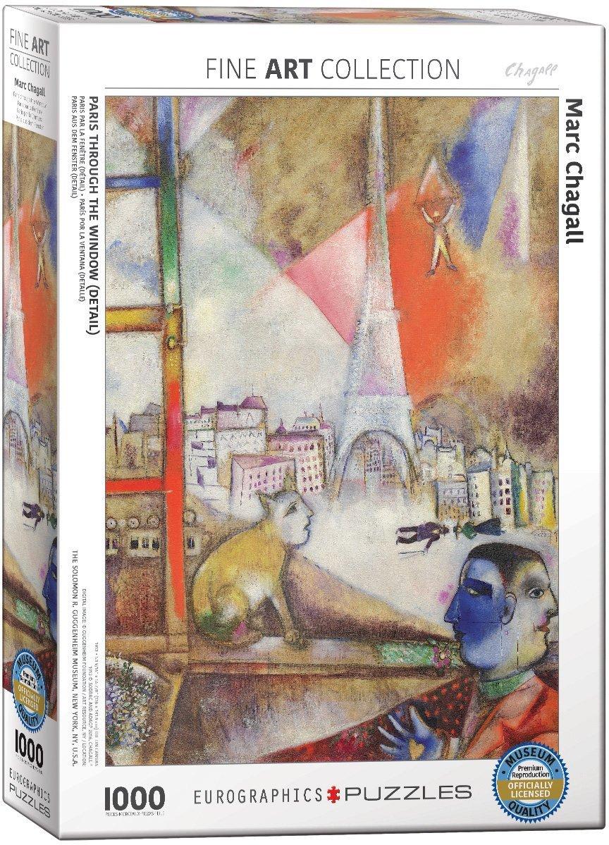 marc-chagall-paris-par-la-fenetre-detail-, 14.95 EUR @ go