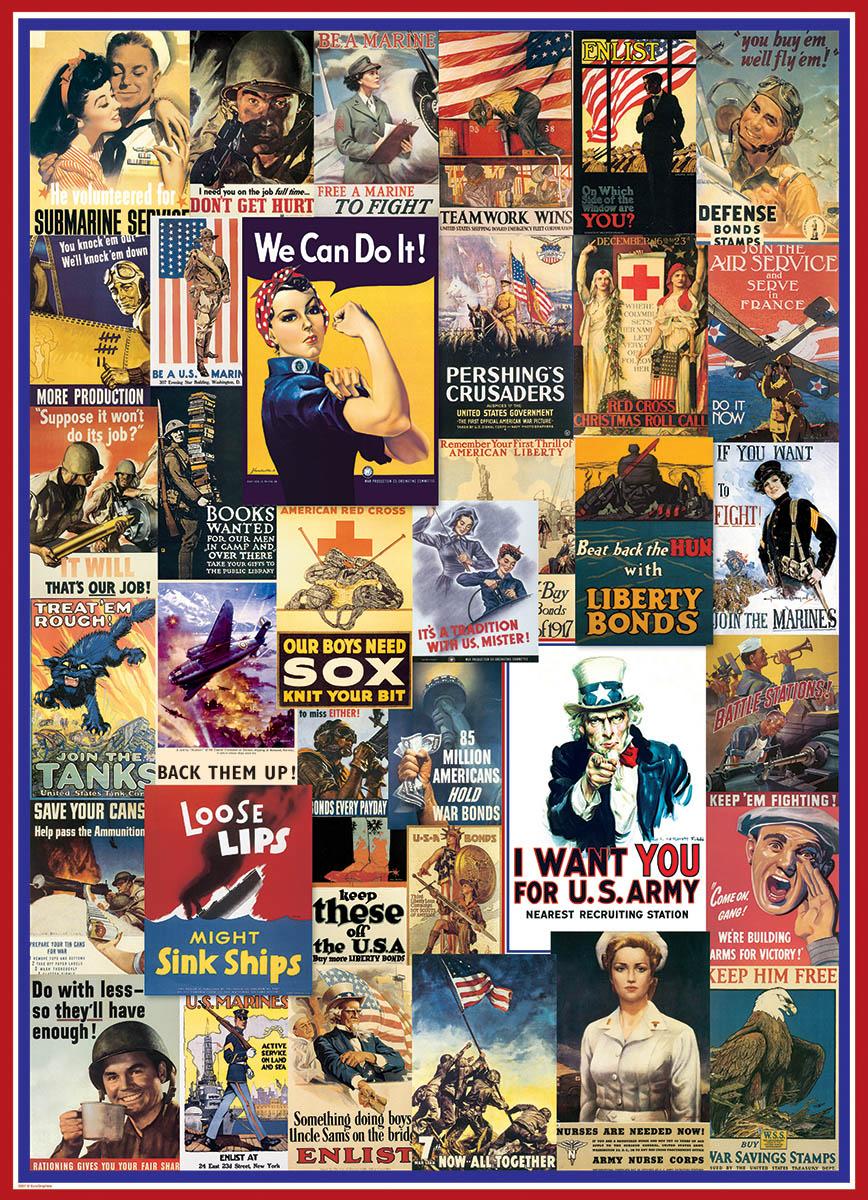 world-war-i-ii-vintage-posters, 14.41 EUR @ go