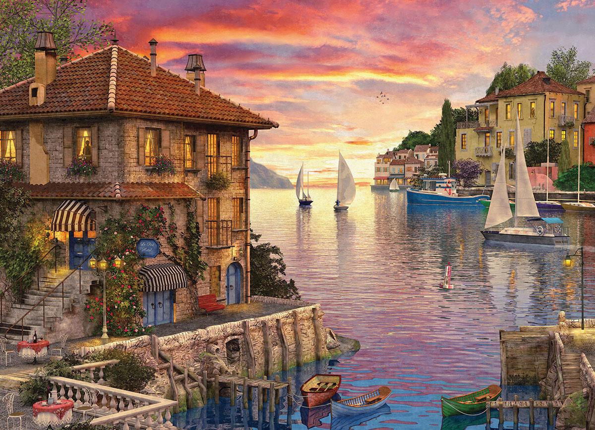 dominic-davison-mediterranean-harbor