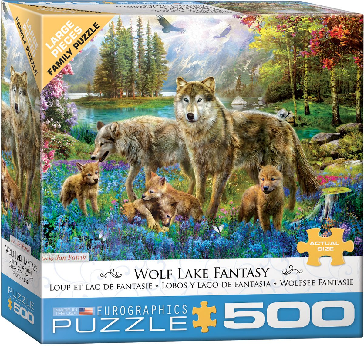 pieces-xxl-wolf-lake-fantasy, 14.95 EUR @ go