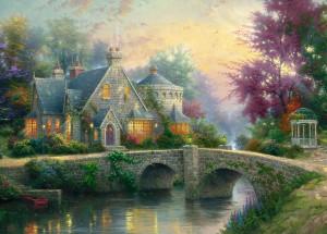 Thomas Kinkade : Crépuscule