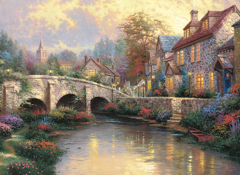 Thomas Kinkade : Le vieux pont