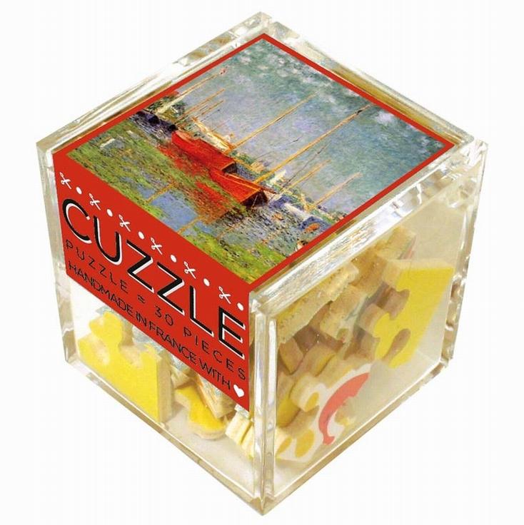 puzzle-en-bois-monet-claude-bateaux-rouges, 13.95 EUR @ go
