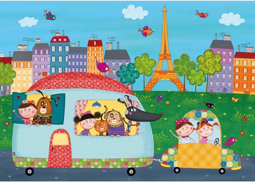 puzzle-en-bois-bonjour-paris, 24.95 EUR @ go