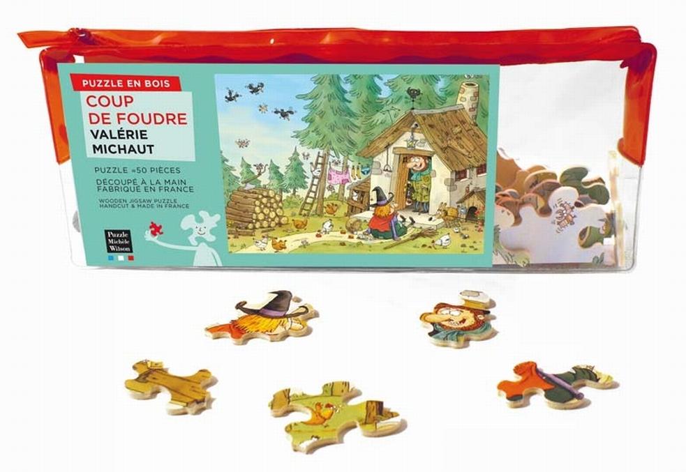 puzzle-en-bois-valerie-michaut-coup-de-foudre, 28.95 EUR @ go