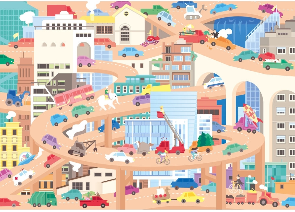 puzzle-en-bois-lucie-georger-vive-la-ville, 26.95 EUR @ go