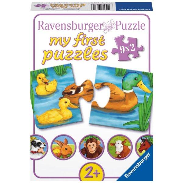 puzzle-9-x-2-pieces-adorables-animaux