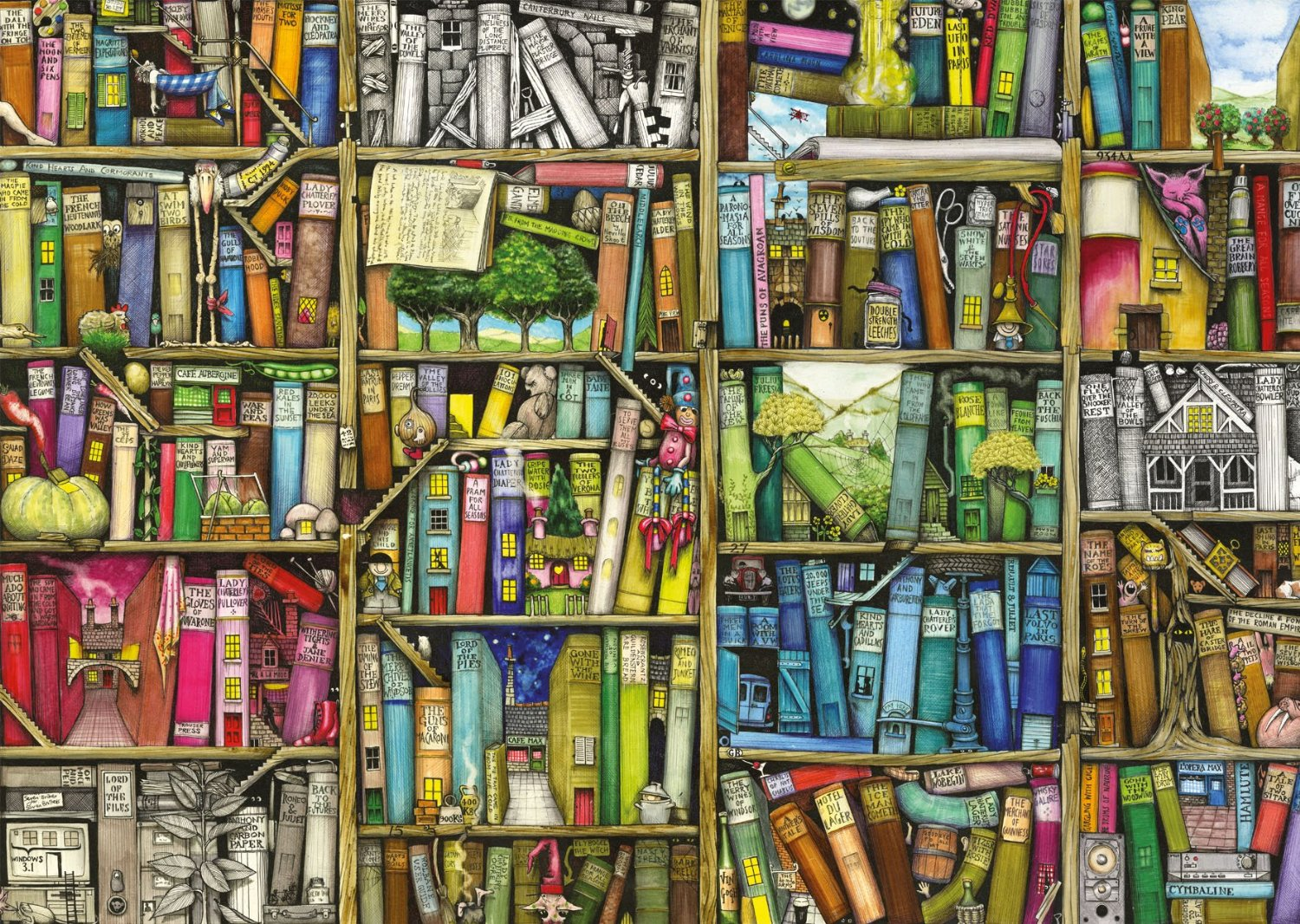 colin-thompson-bibliotheque-magique