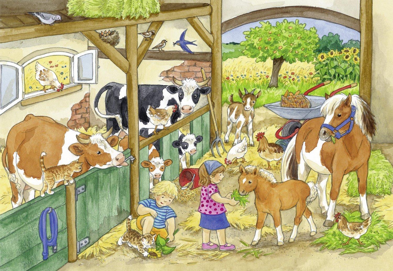 2-puzzles-journee-a-la-ferme