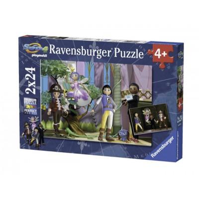 2 Puzzles - Playmobil