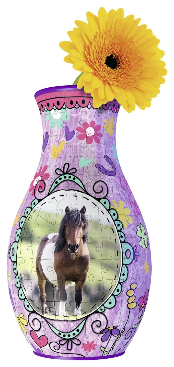 puzzle-3d-girly-girls-edition-vase-cheval