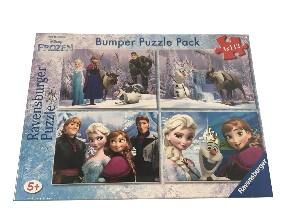 bumper-pack-4-puzzles-la-reine-des-neiges