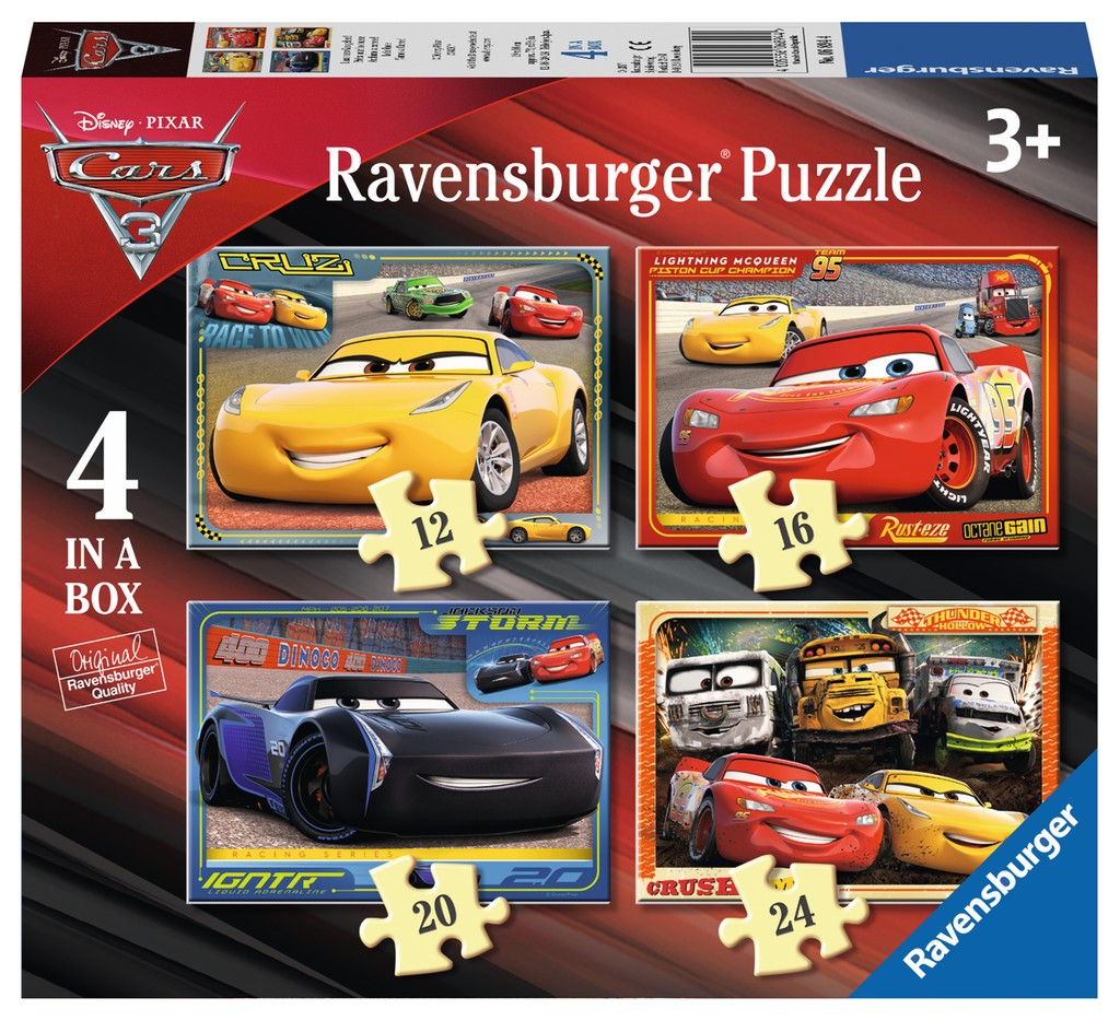 4-puzzles-cars, 9.86 EUR @ go