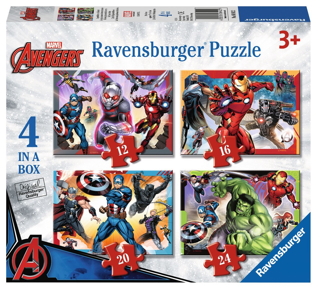 4-puzzles-marvel-avengers, 8.95 EUR @ go